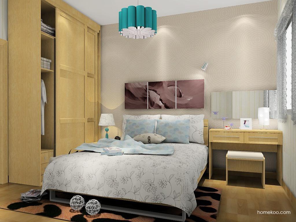 丹麦本色卧房家具A8803