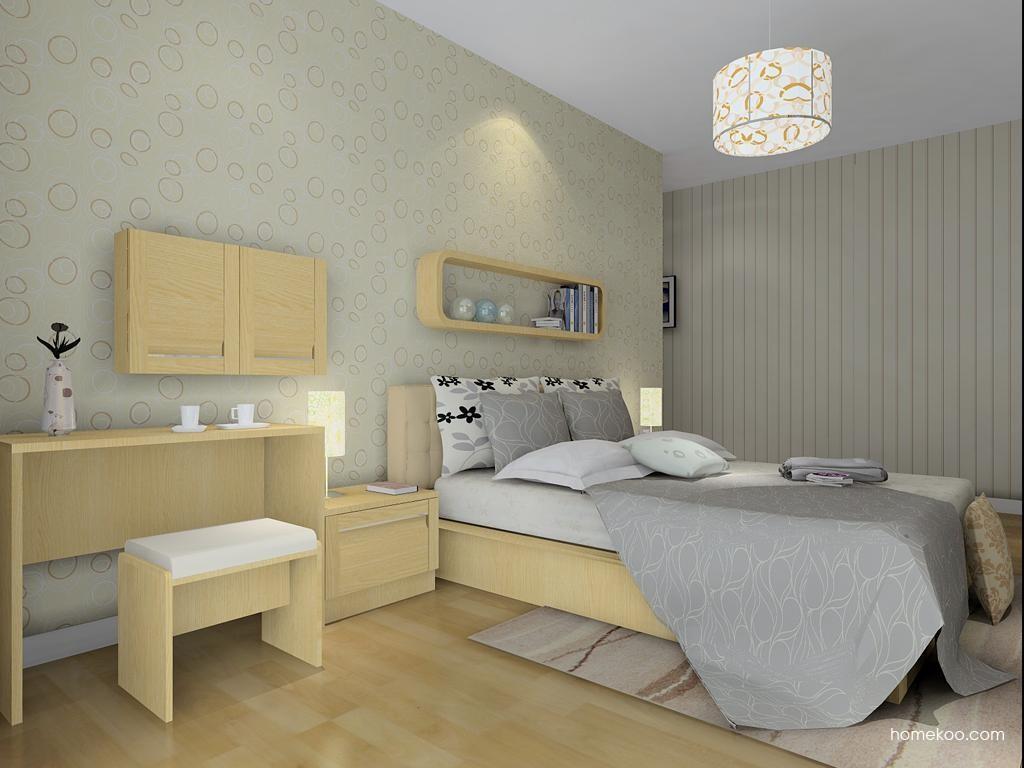 丹麦本色卧房家具A8826