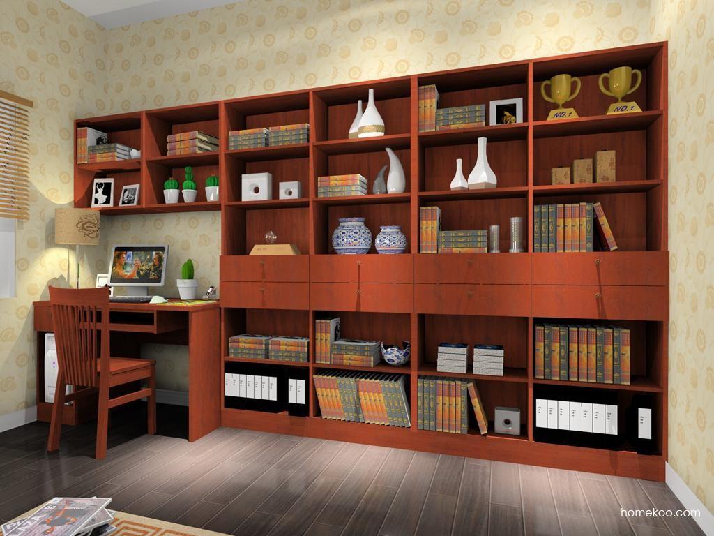 新中式主义书房家具C8392