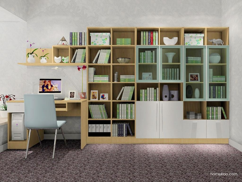 新实用主义书房家具C8412