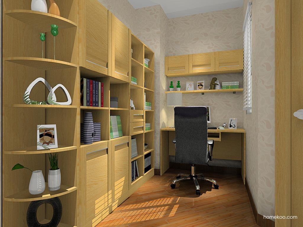 丹麦本色书房家具C8439