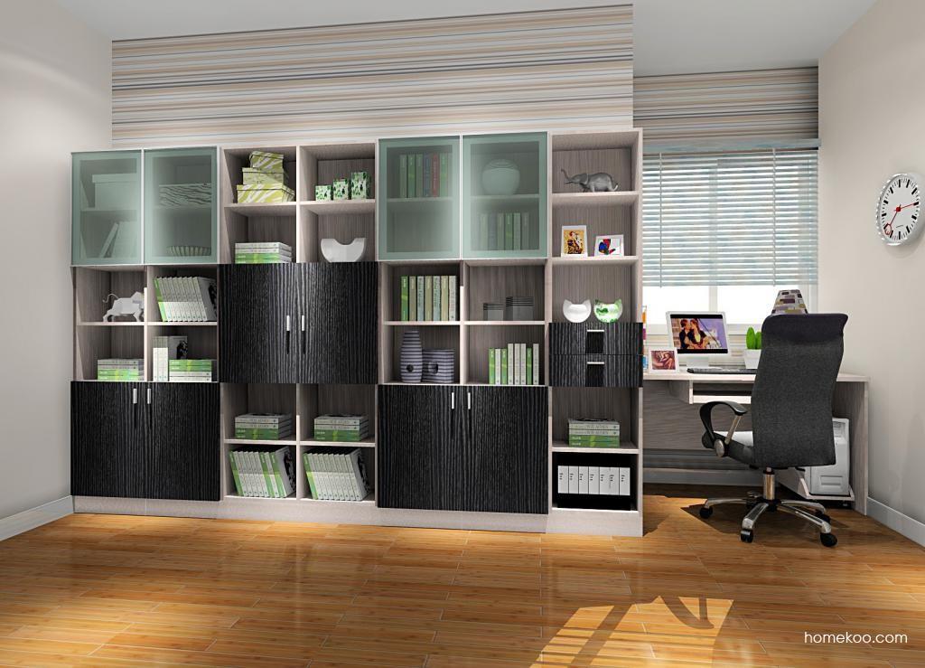 新实用主义书房家具C8438