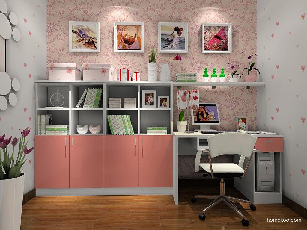 浪漫主义书房家具C8437