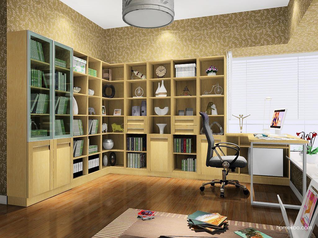 丹麦本色书房家具C8473