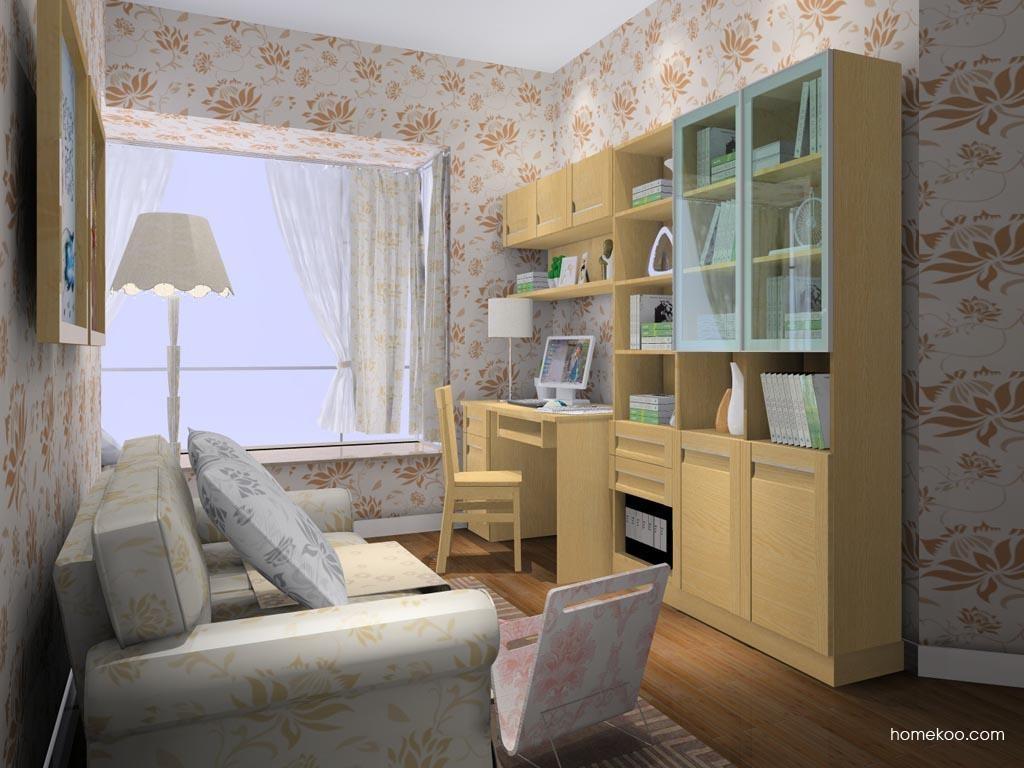 丹麦本色书房家具C8468