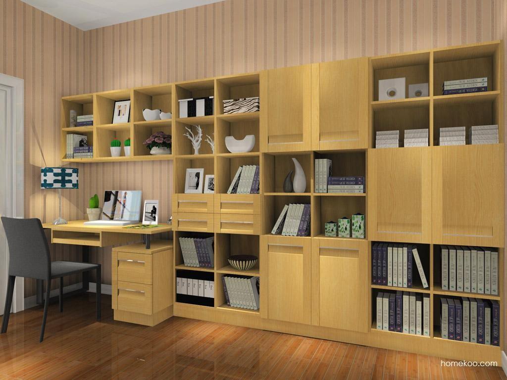 丹麦本色书房家具C8486