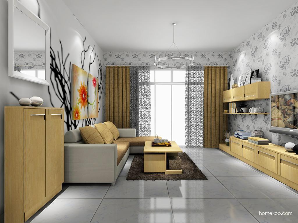 丹麦本色客厅家具D7934