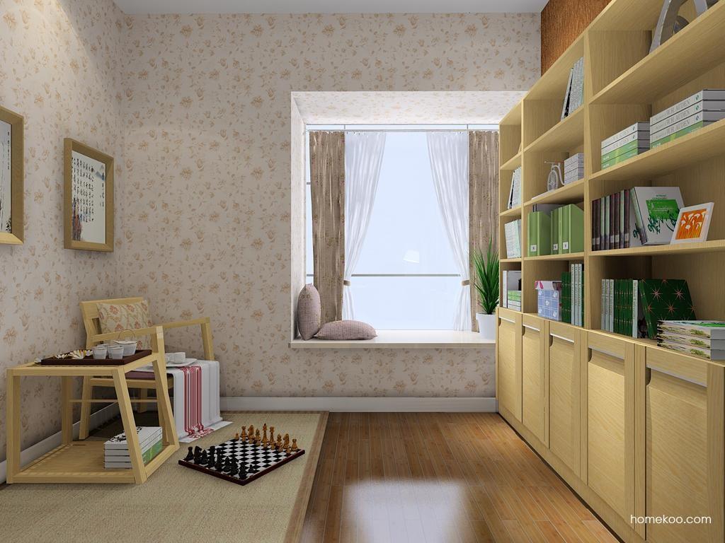 丹麦本色书房家具C8502