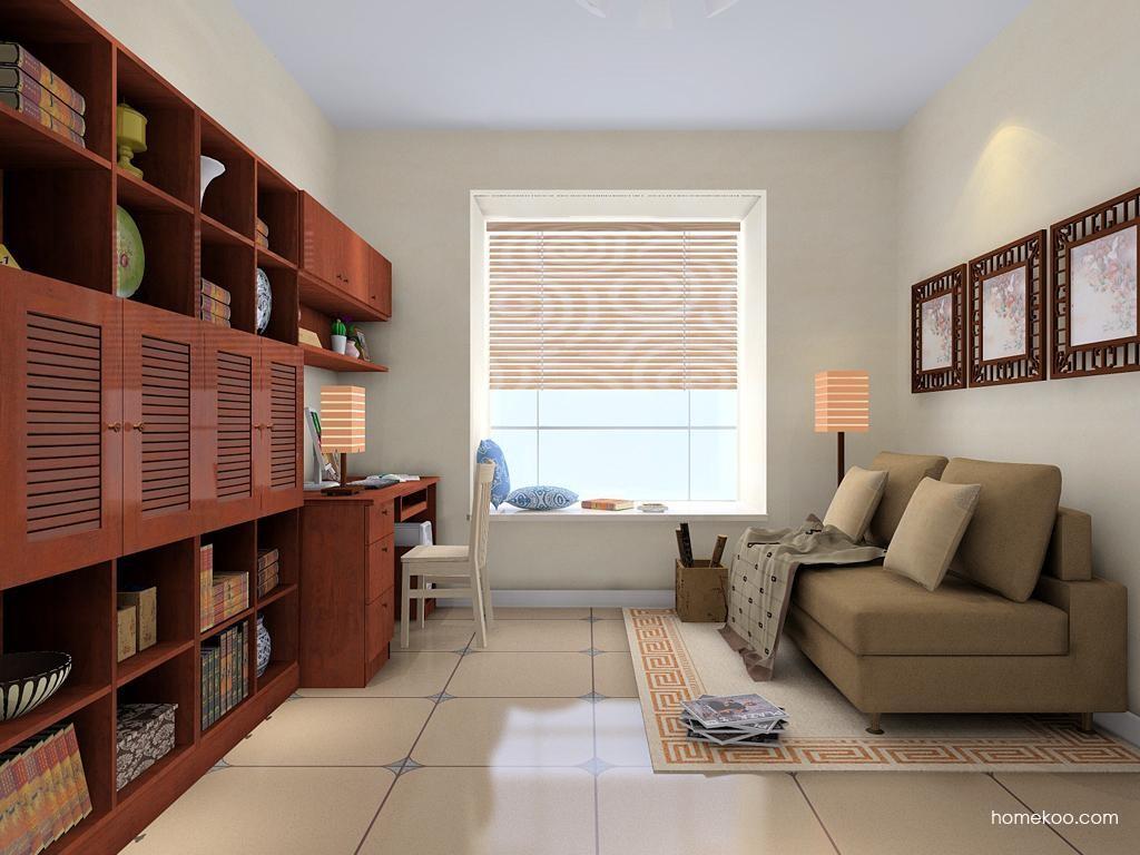 新中式主义书房家具C8524