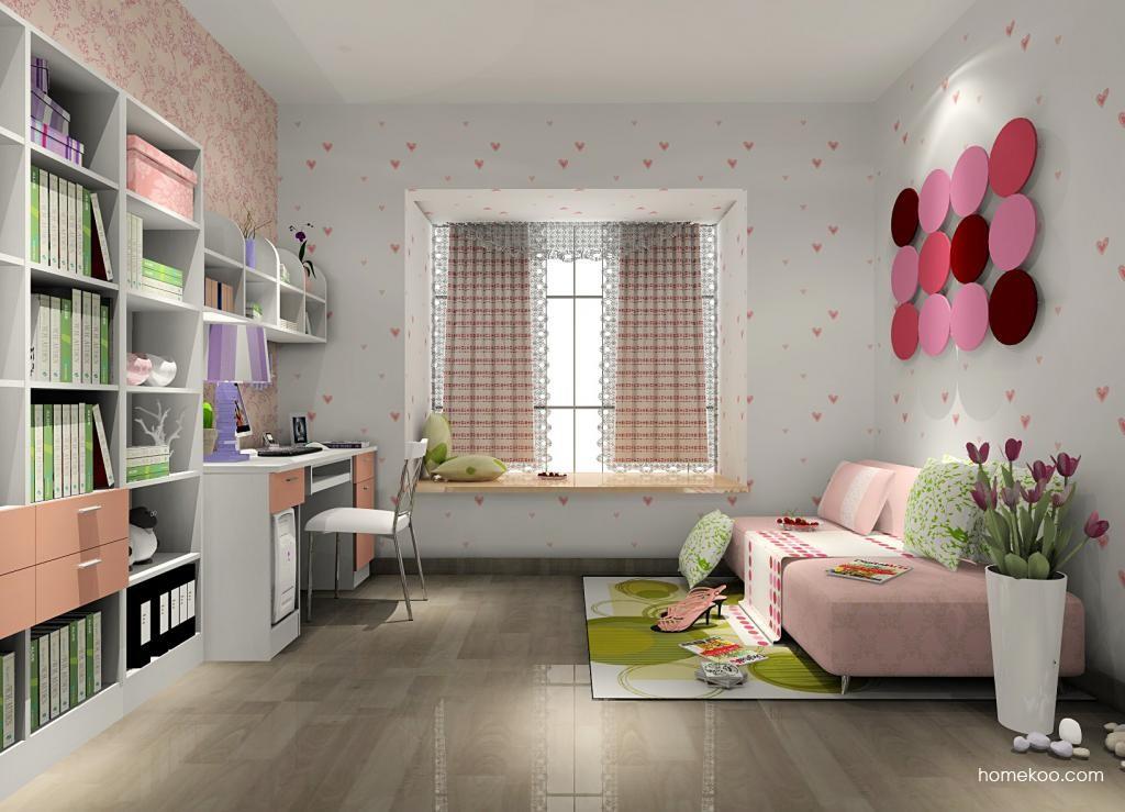 浪漫主义书房家具C8967