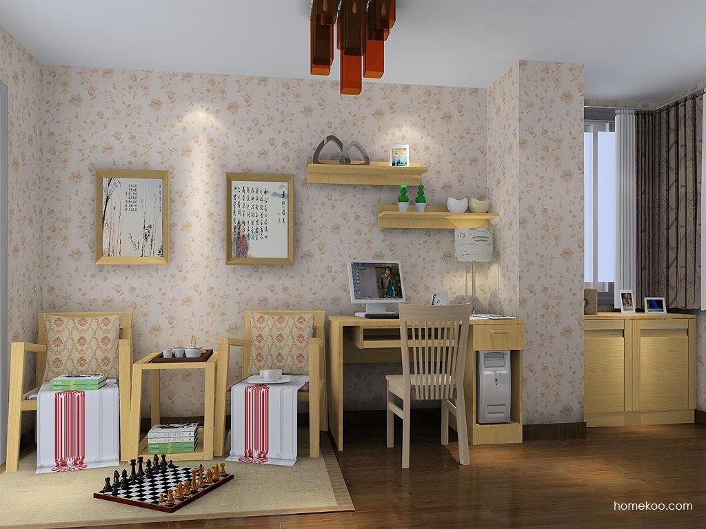 丹麦本色书房家具C9016