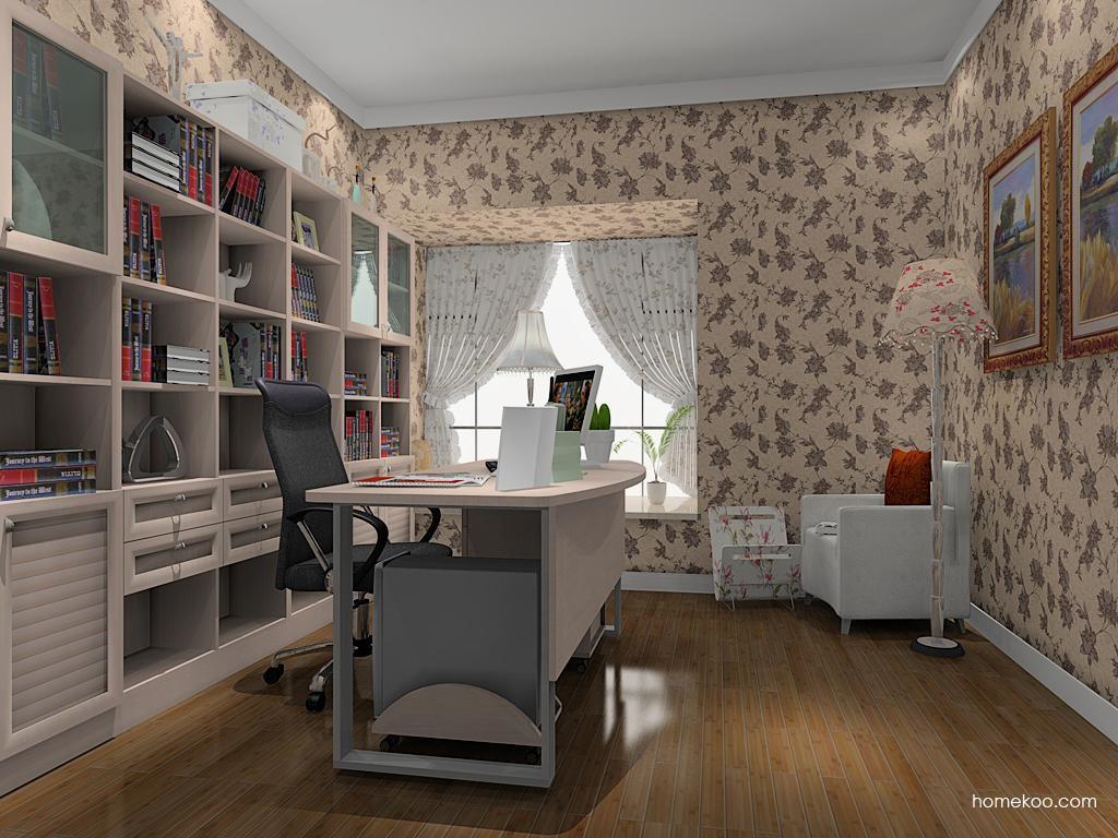 北欧阳光书房家具C8990