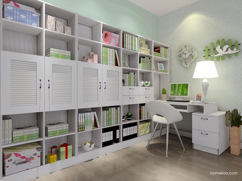 韩式田园书房家具C9008