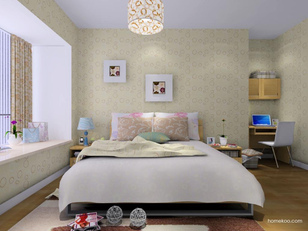 丹麦本色卧房家具A8949