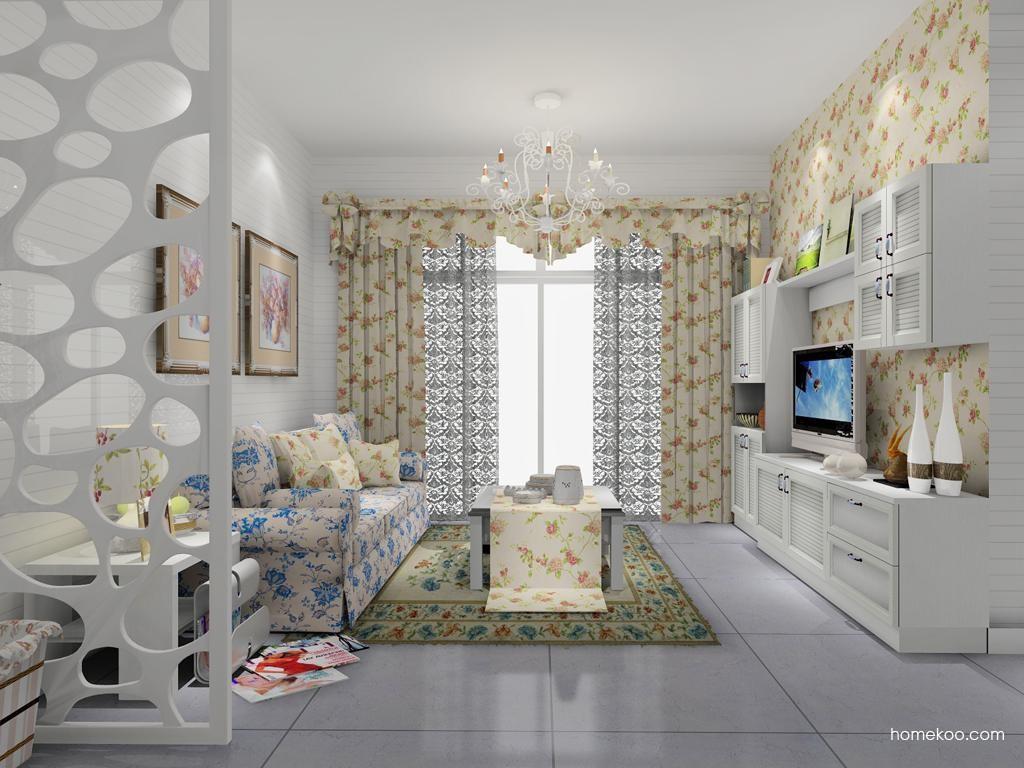 韩式田园客厅家具D7938