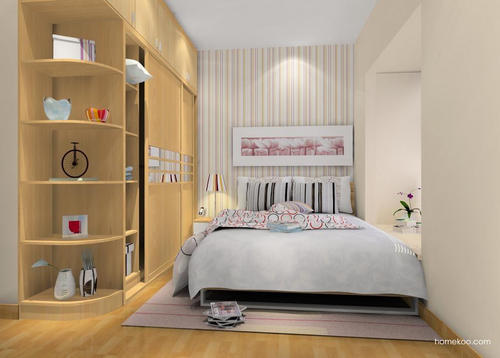 新实用主义卧房家具A8963