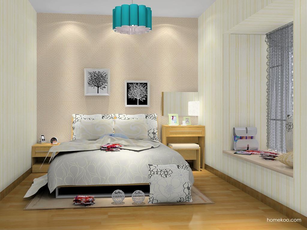 丹麦本色卧房家具A8990