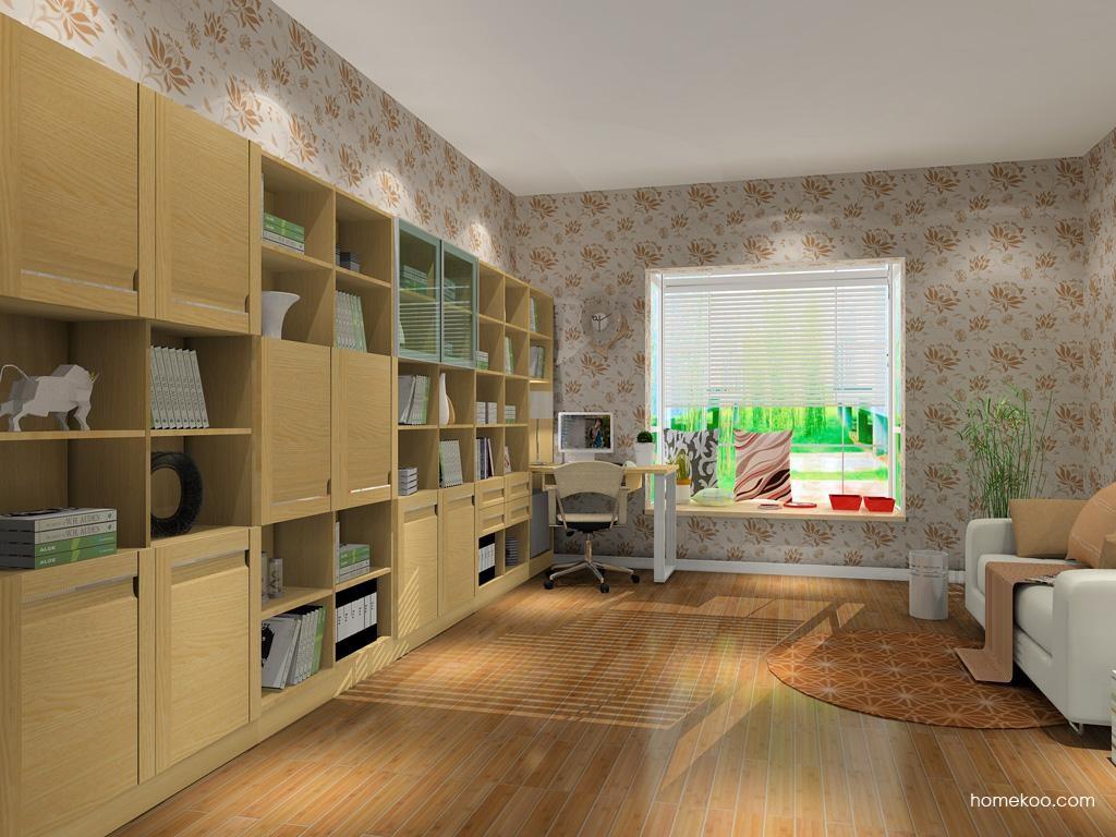 丹麦本色书房家具C9037