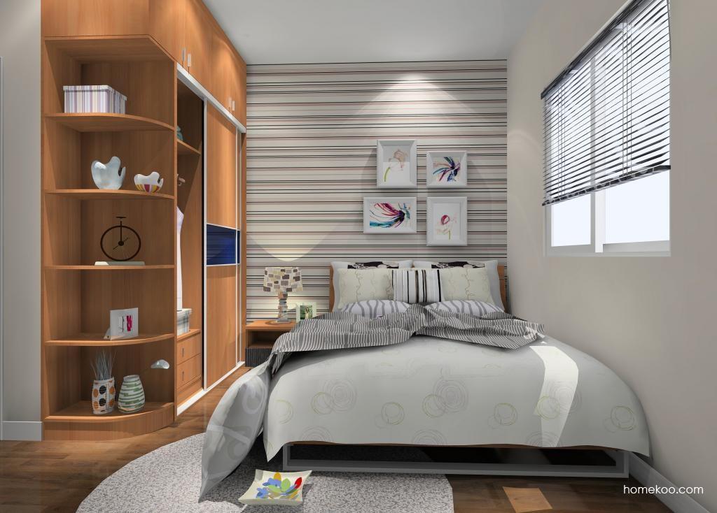 新实用主义卧房家具A9080