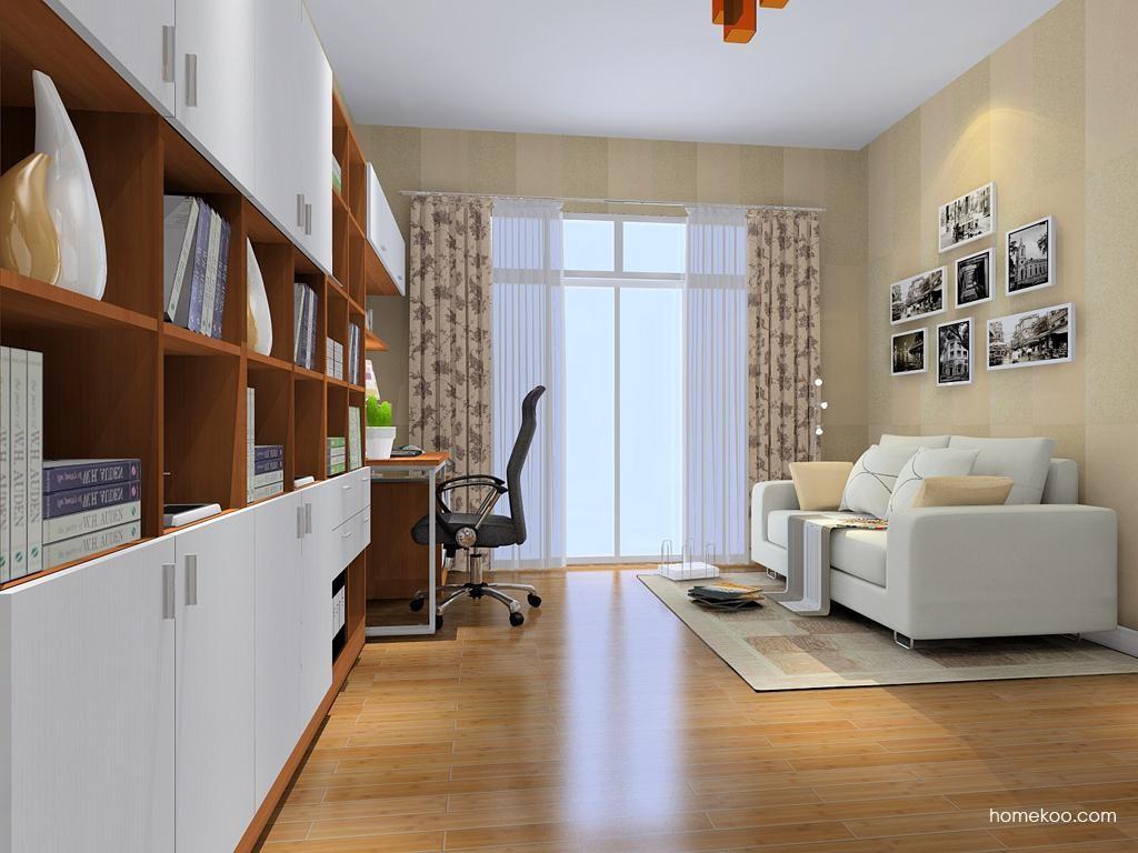 新实用主义书房家具C9059
