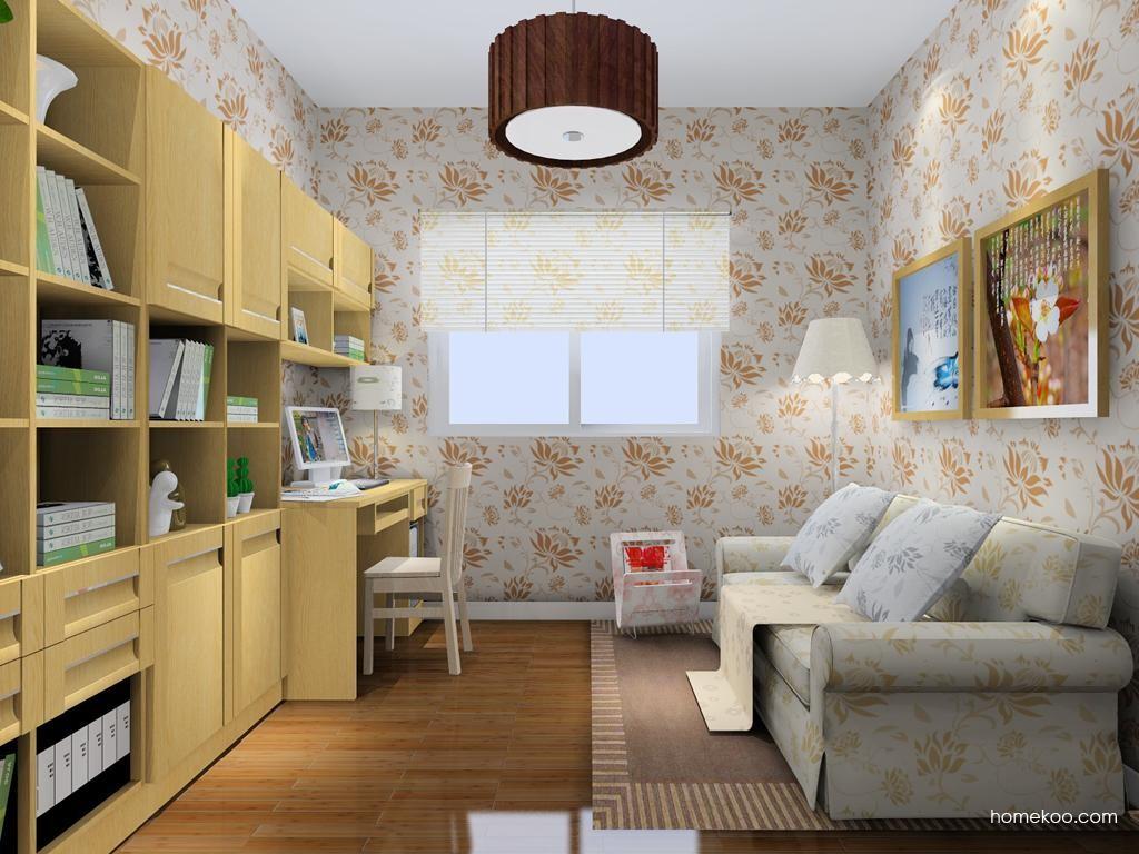 丹麦本色书房家具C9063