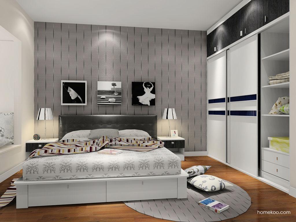 简约主义卧房家具A9111