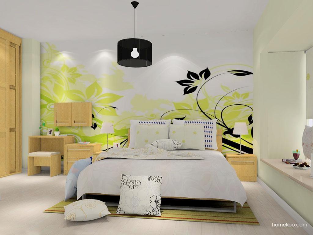 丹麦本色卧房家具A9091