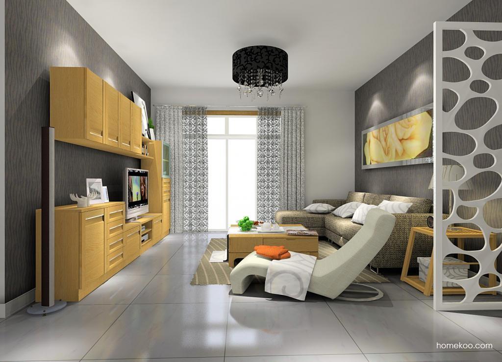 丹麦本色客厅家具D7957