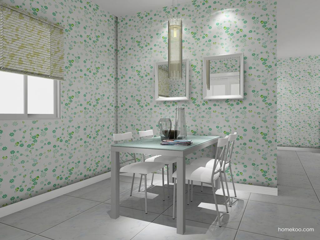 浪漫主义餐厅家具E7950