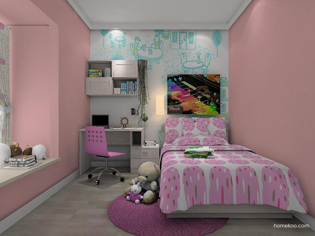 女孩的梦青少年房B9149