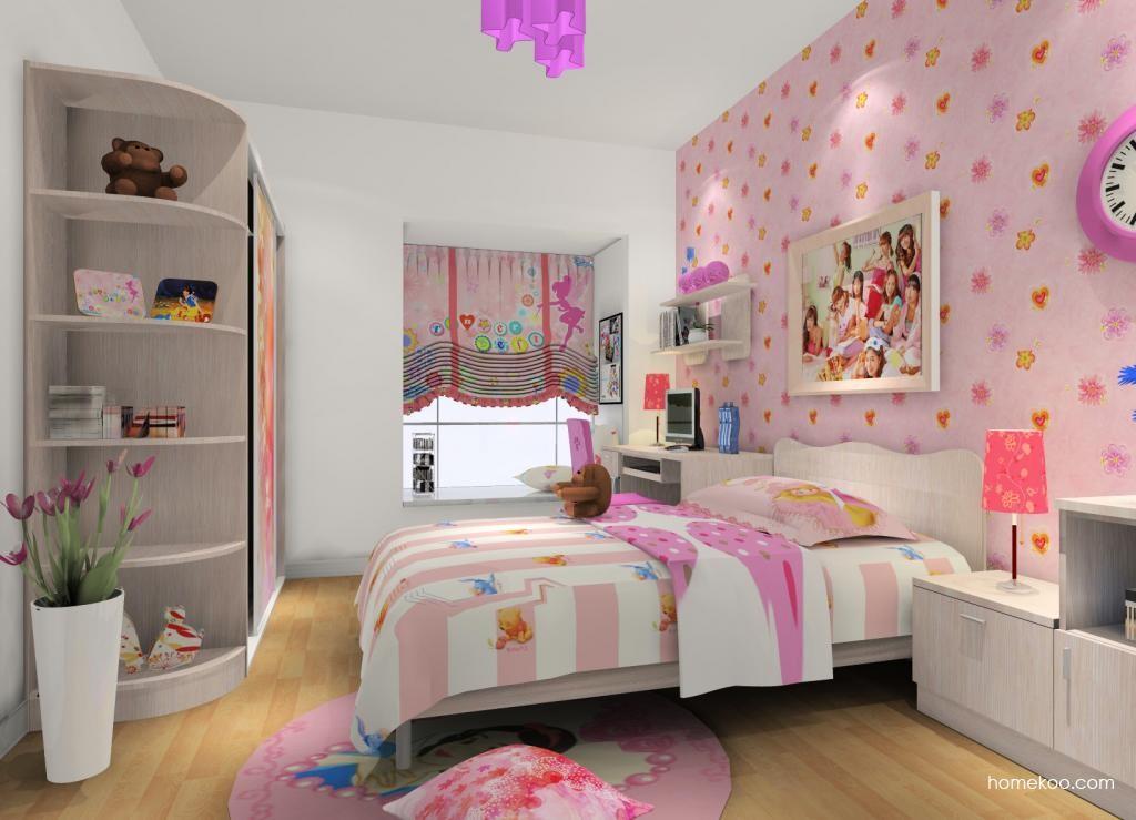 女孩的梦青少年房B9167