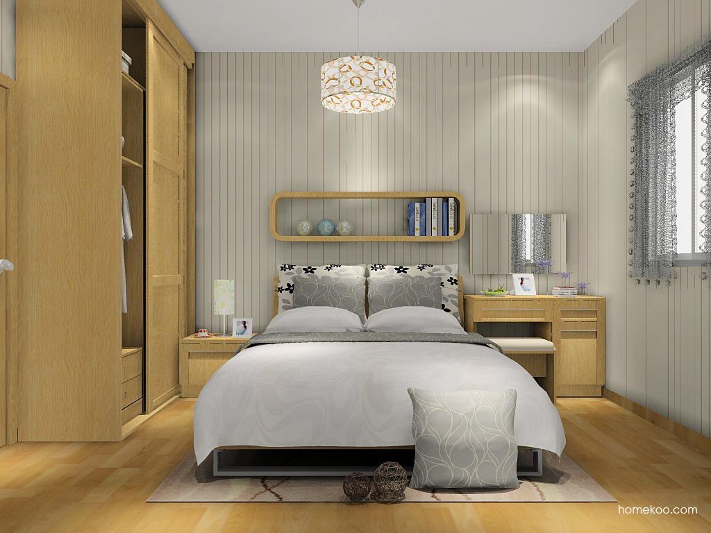 丹麦本色卧房家具A9234