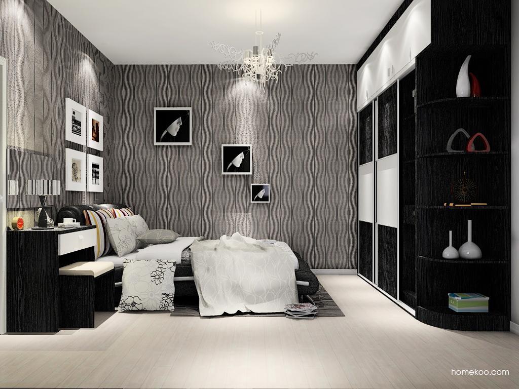 简约主义卧房家具A9305