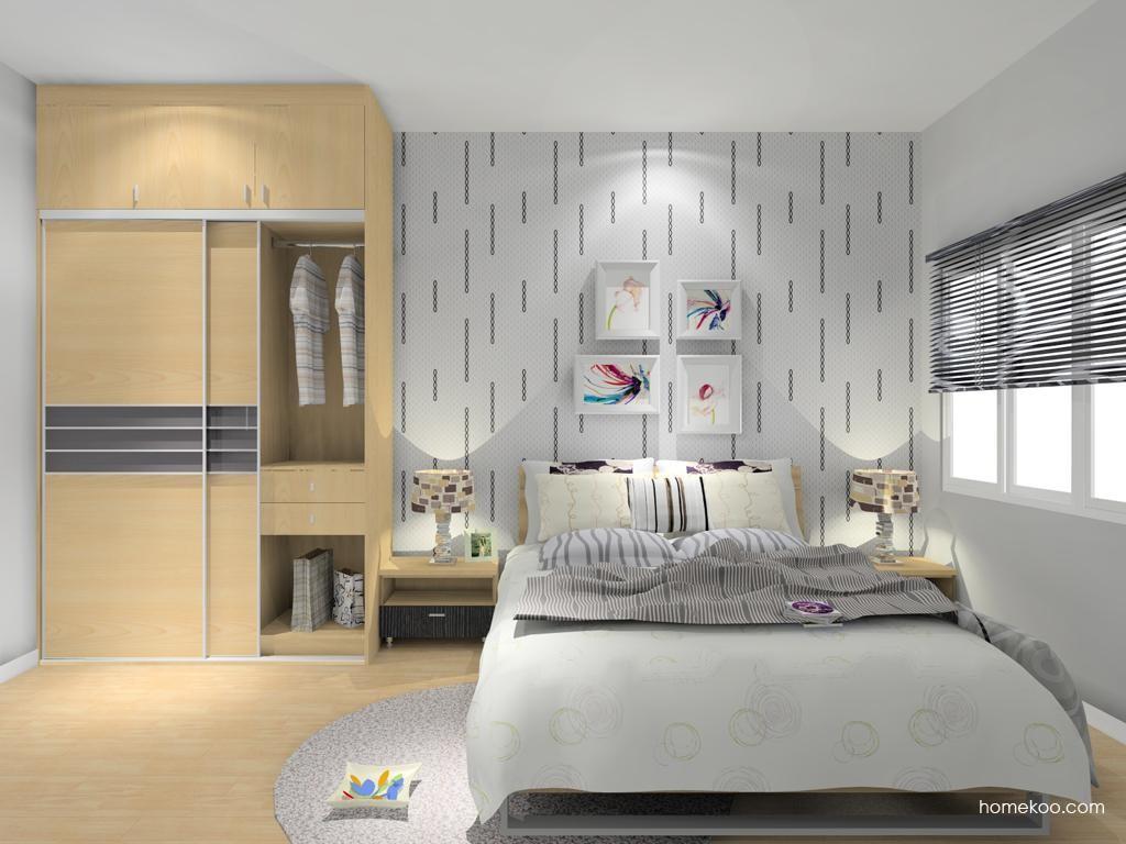 新实用主义卧房家具A9319