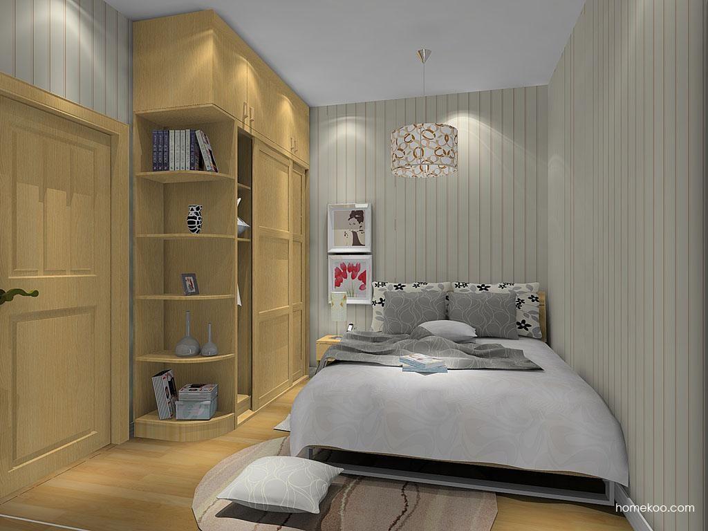丹麦本色卧房家具A9408