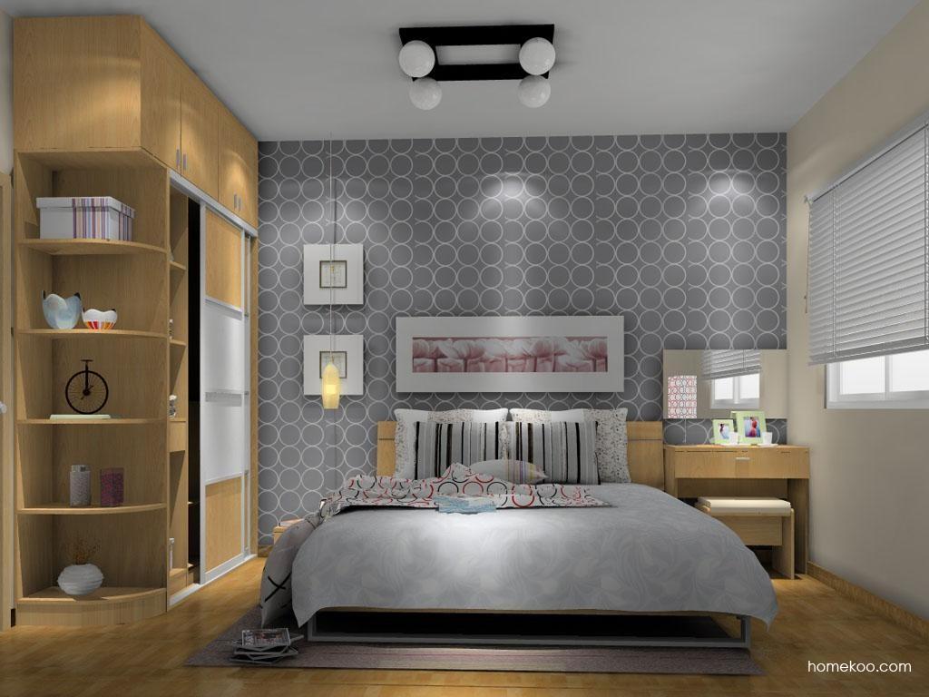 新实用主义卧房家具A9419