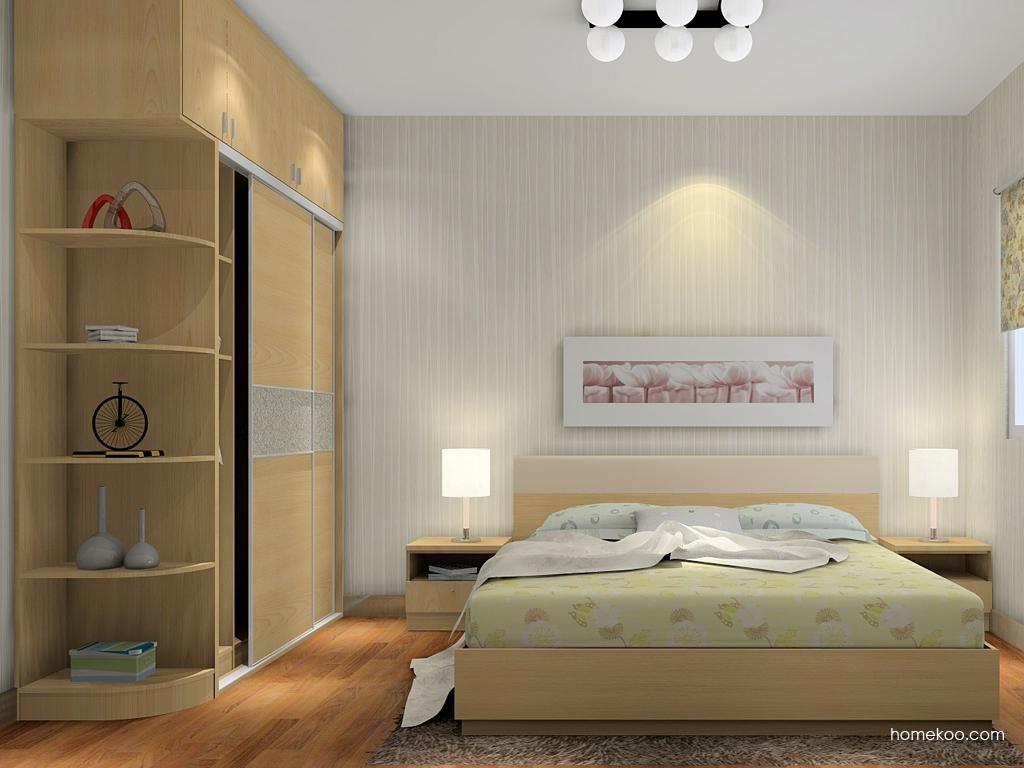 新实用主义卧房家具A9455