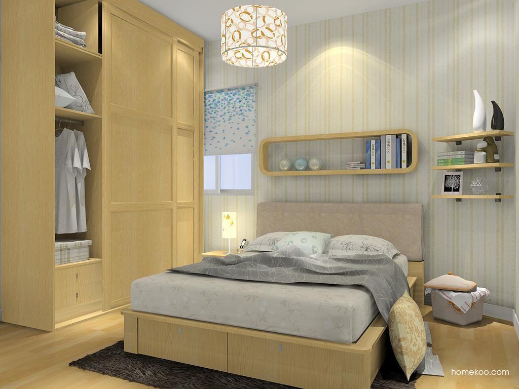 丹麦本色卧房家具A9444