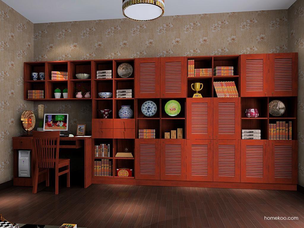 新中式主义书房家具C9251