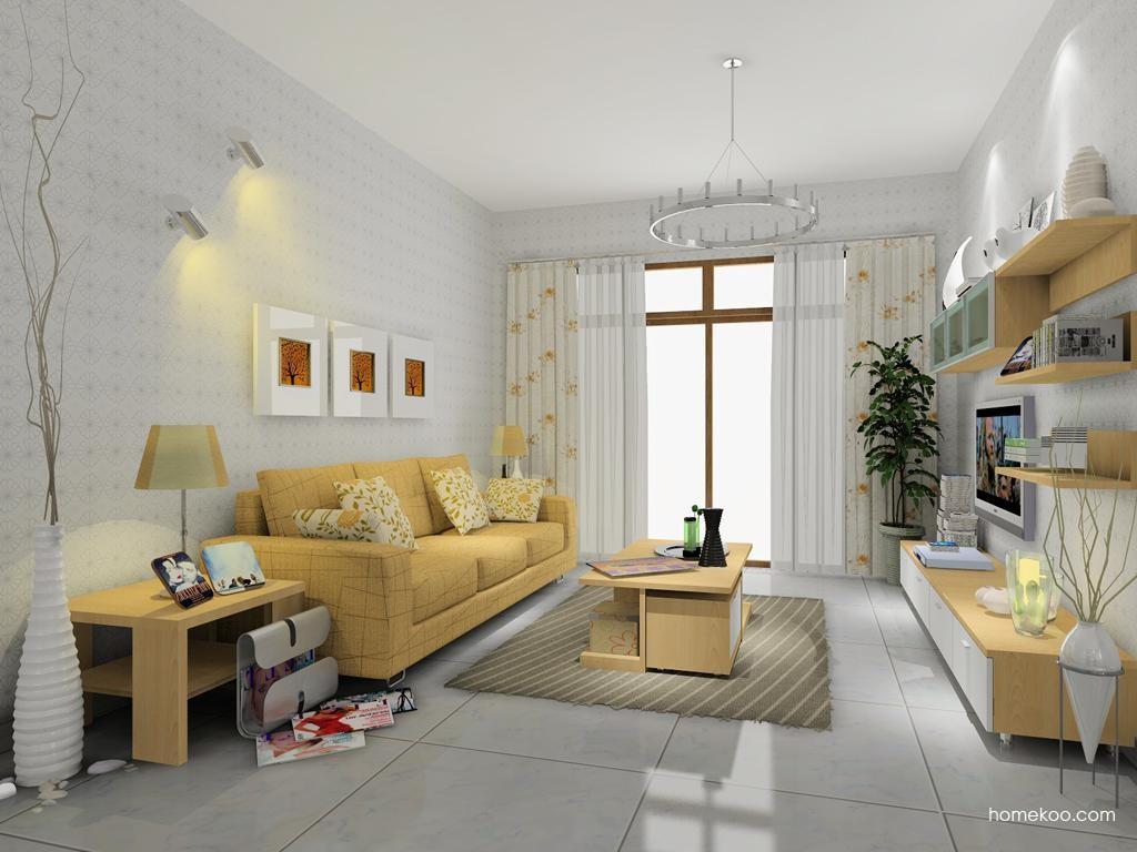 新实用主义客厅家具D7967