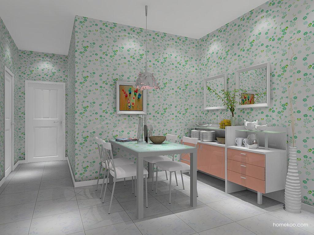 浪漫主义餐厅家具E7961