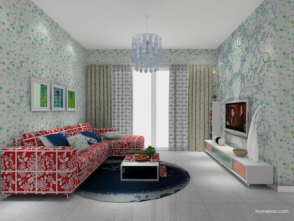 浪漫主义客厅家具D7962