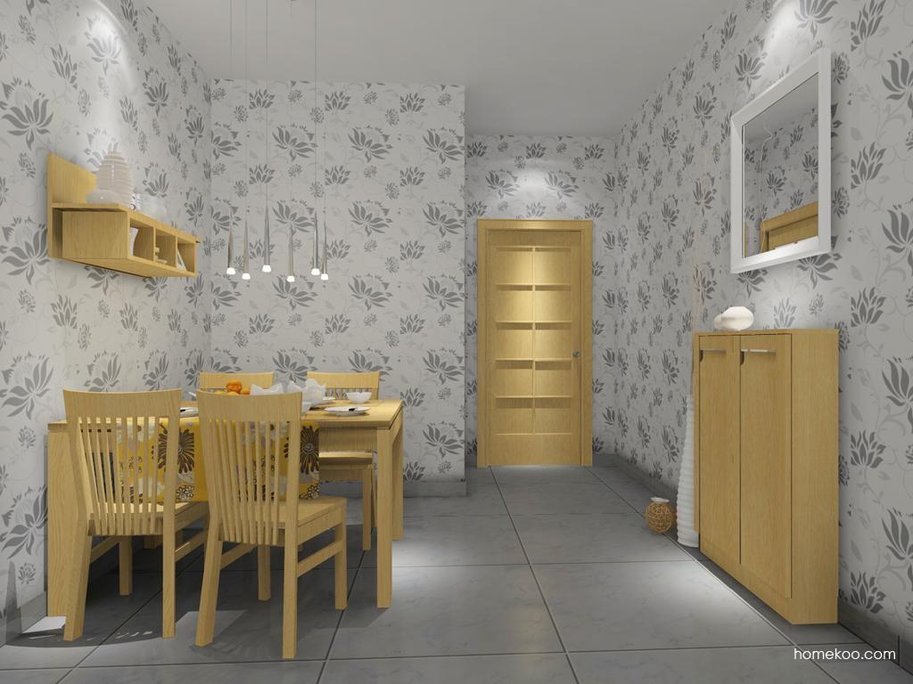 丹麦本色餐厅家具E7978