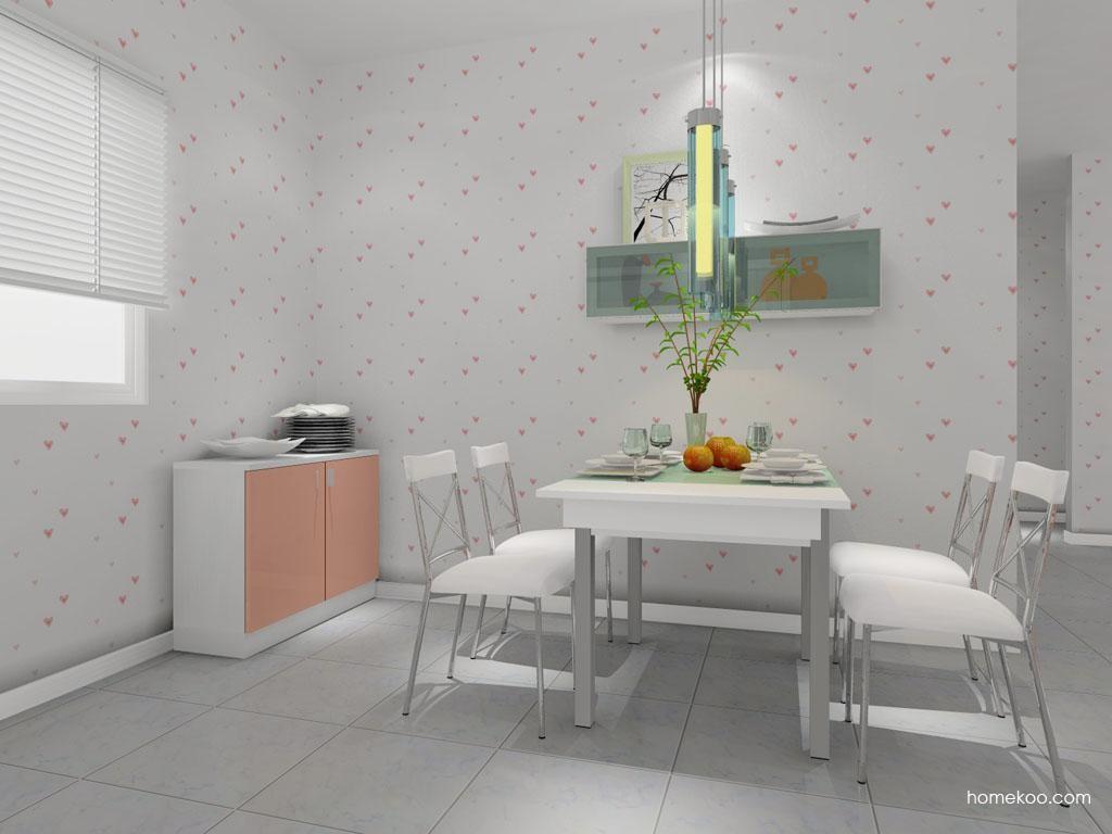 浪漫主义餐厅家具E7981