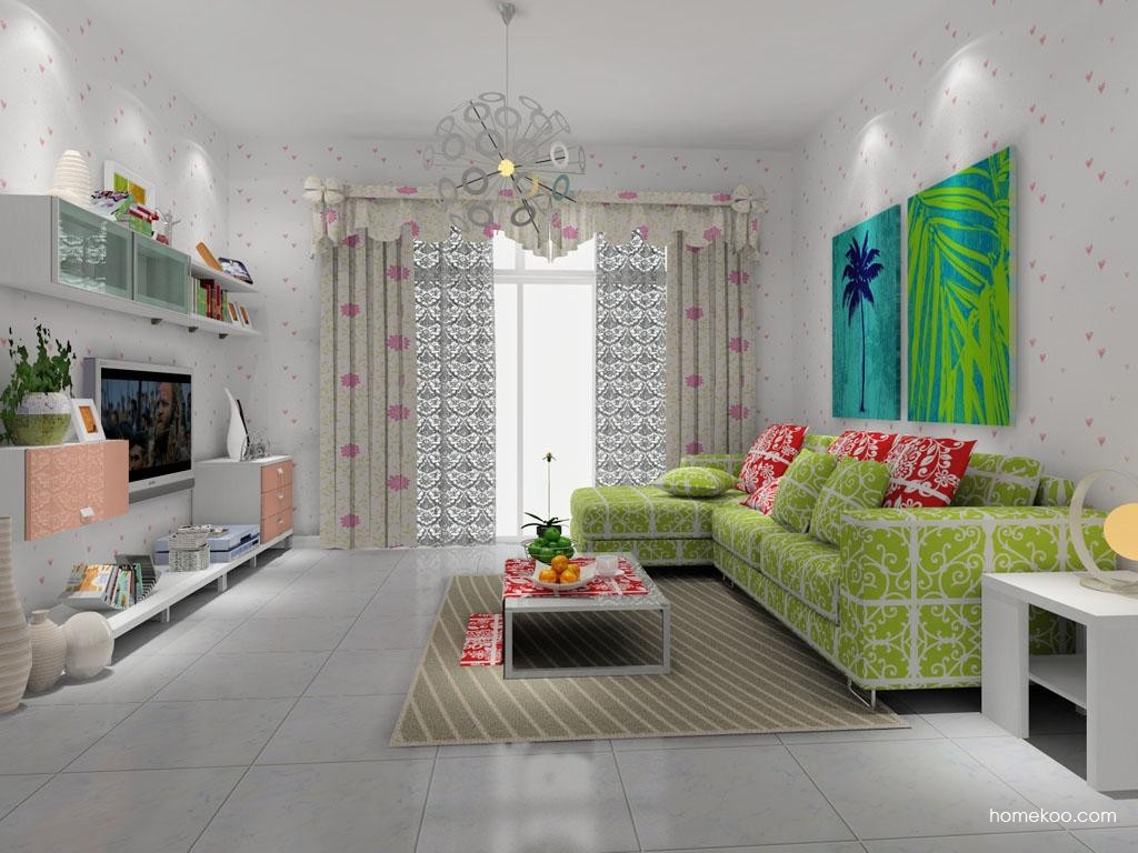 浪漫主义客厅家具D7982