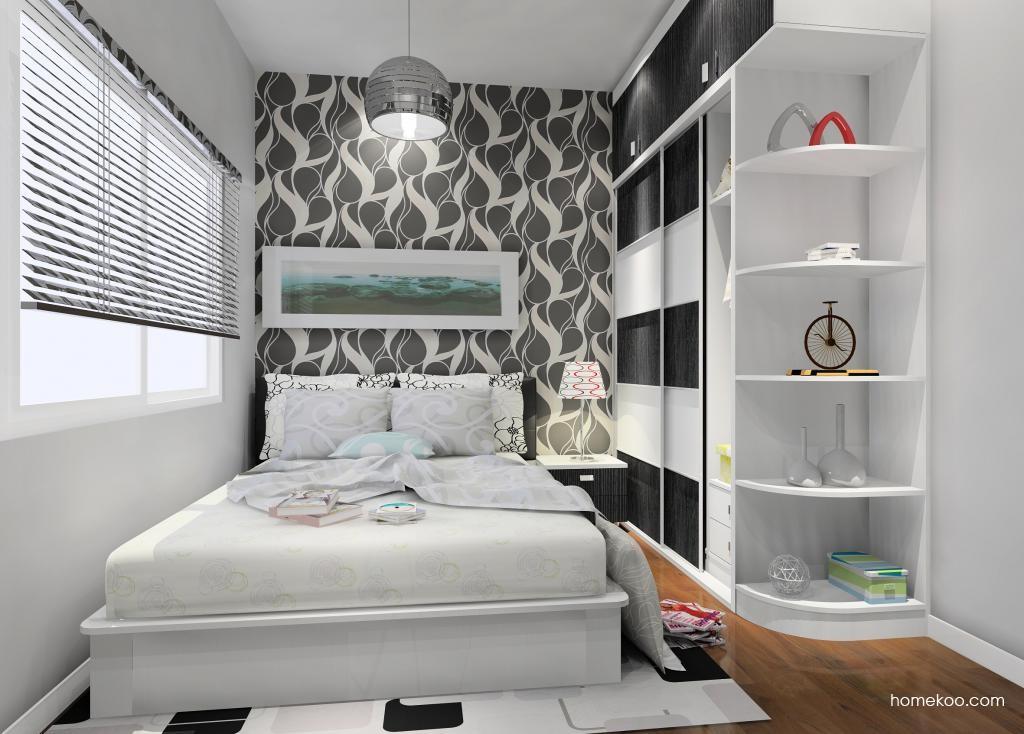 简约主义卧房家具A9502