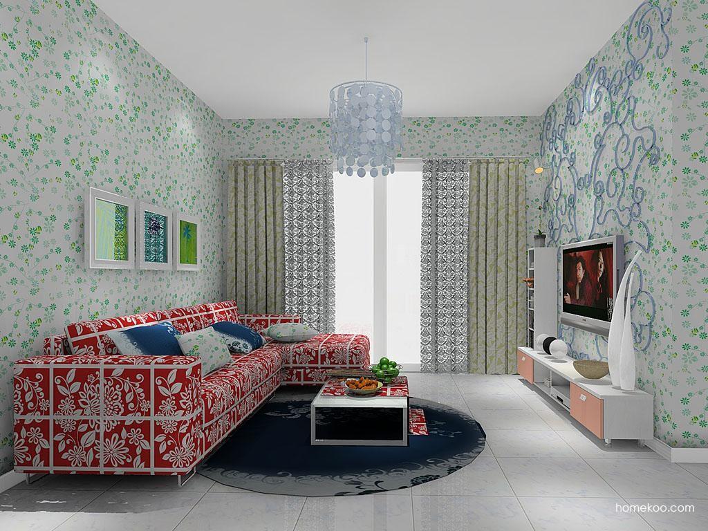 浪漫主义客厅家具D7988