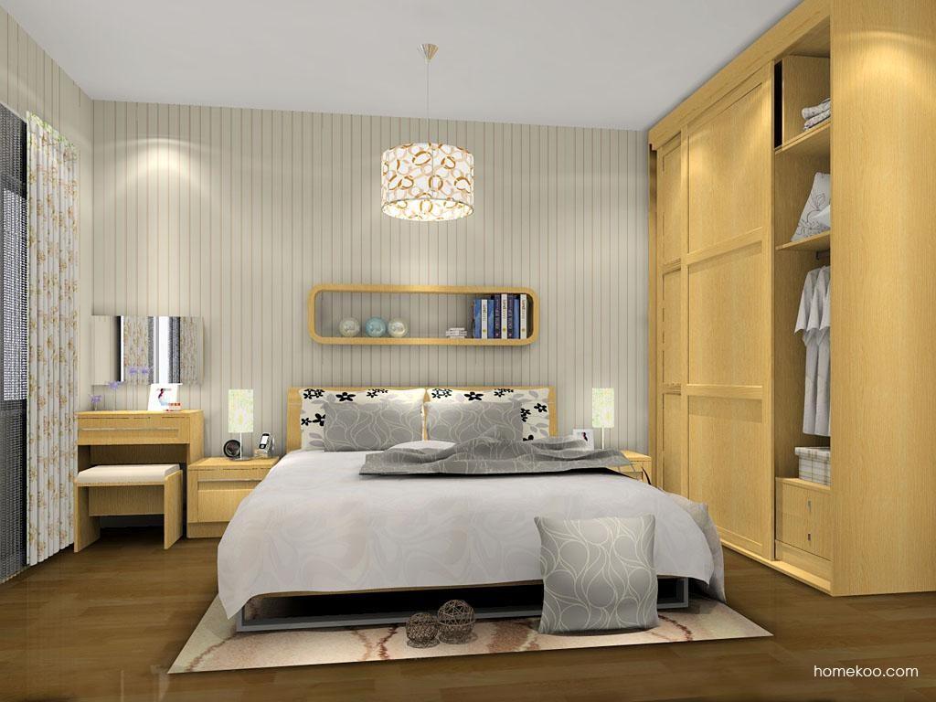 丹麦本色卧房家具A9529
