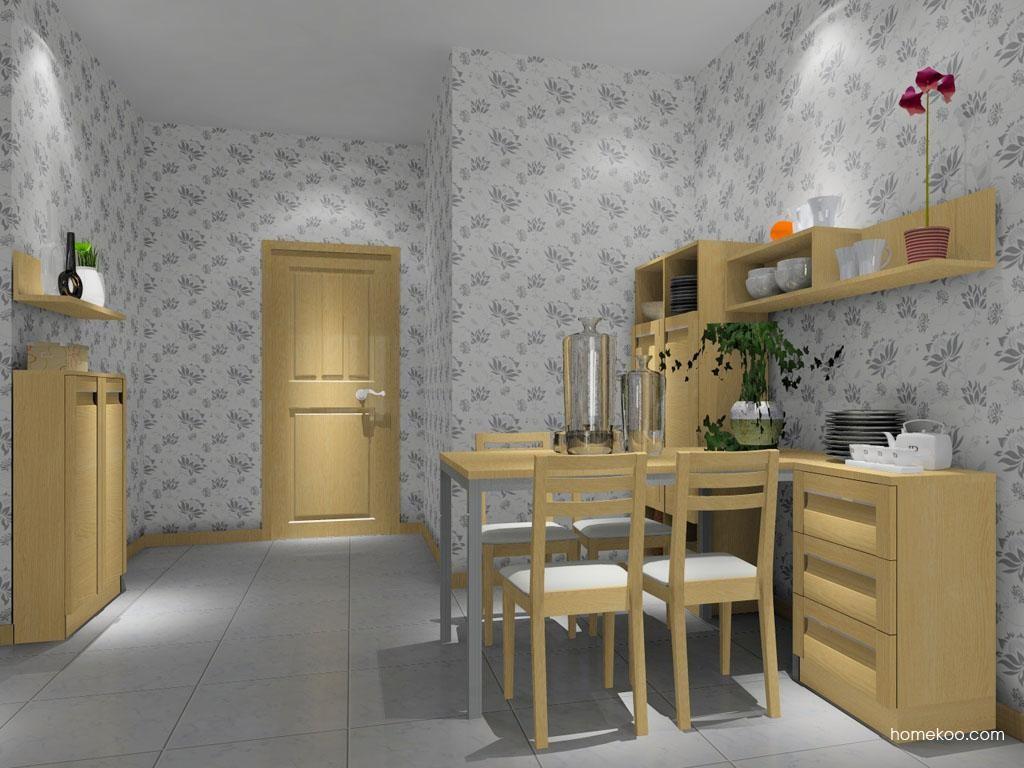 丹麦本色餐厅家具E7998