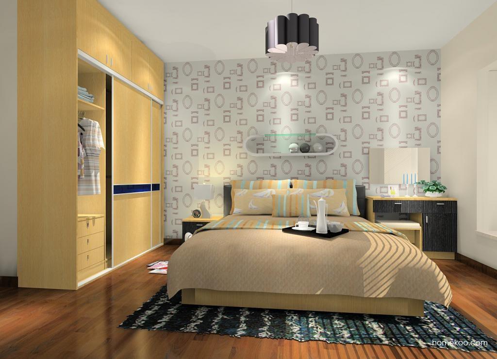 新实用主义卧房家具A9537